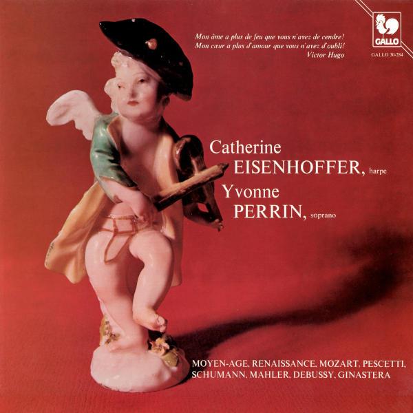 MOZART: Als Luise die Briefe, K. 520 - SCHUMANN : Myrten, Op. 25: No. 3 Der Nussbaum - Catherine Eisenhoffer, Harp - Yvonne Perrin, Soprano.