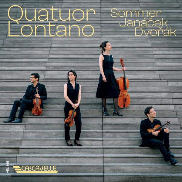 "JANACEK: String Quartet No. 1 ""Kreutzer Sonata"" - DVORAK: String Quartet No. 12 in F Major, Op. 96, B. 179 ""American"" - Quatuor Lontano."
