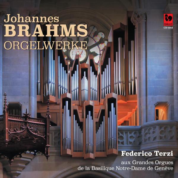 Johannes BRAHMS: 11 Chorale Preludes, Op. 122 - Federico Terzi aux Grandes Orgues de la Basilique Notre-Dame de Genève.
