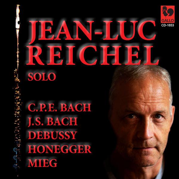 Claude DEBUSSY: Syrinx, L. 129 - Peter MIEG: Etüden-Improvisation: Allegro - Les Plaisirs de Rued... - Jean-Luc Reichel, flûte seule, Flute Solo.