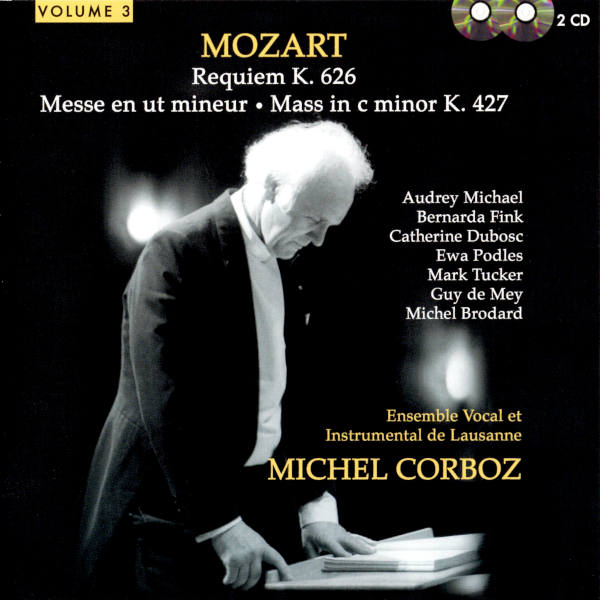 Mozart: Requiem in D Minor, K. 626 - Mass in C Minor, K. 427 - Ave Verum, K. 618 - Ensemble Vocal et Instrumental de Lausanne - Michel Corboz, direction